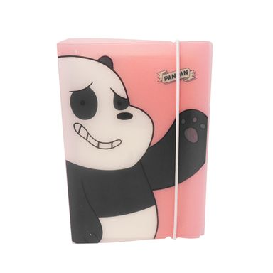 Agenda We Bare Bears Panda Rosa 88 Hojas