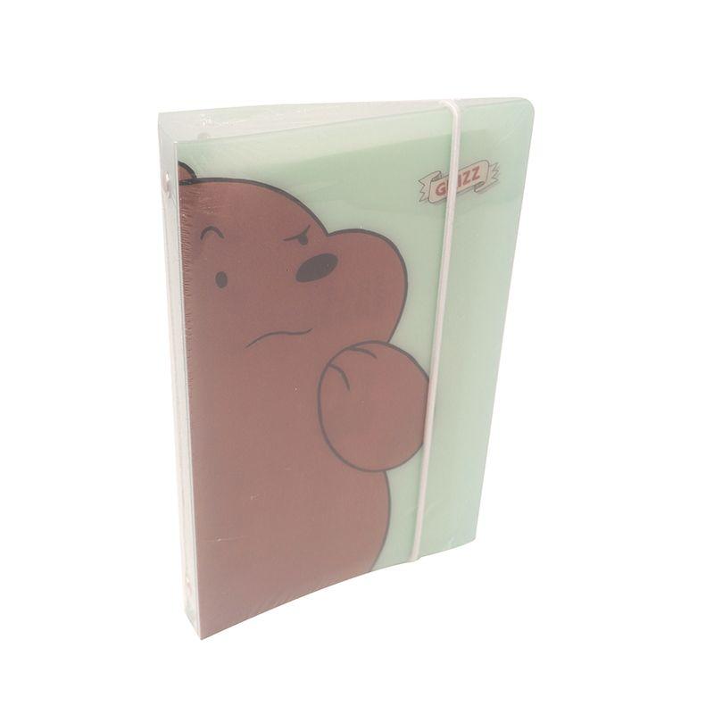 Organizador-Agenda-Con-Argolllas-We-Bare-Bears-Pardo-Verde-88-Hojas-1-6713