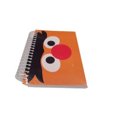 Libreta Con Espiral Rayada Tamaño A6 Sesame Street Ernie 160 Hojas
