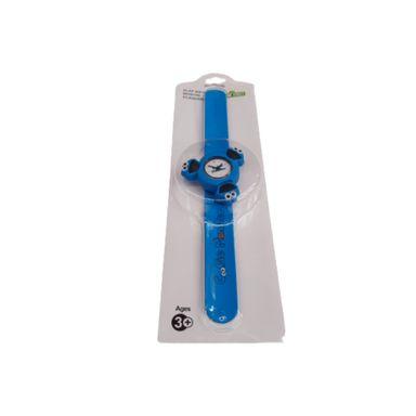 Reloj Pop Tipo Slap Giratorio Para Niño Sesame Street Come Galletas Azul