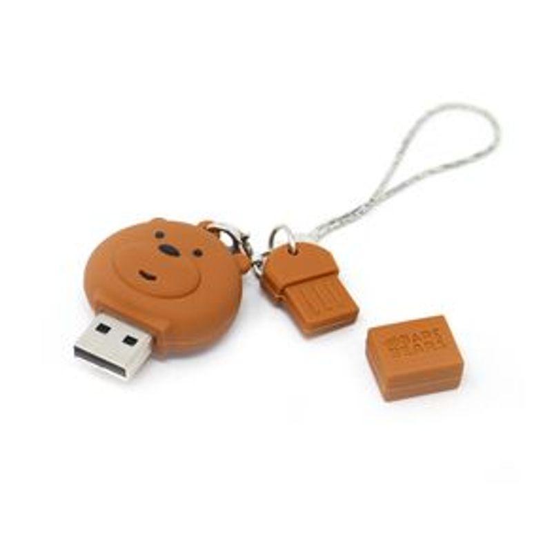 Memoria-USB-32-GB-We-Bare-Bears-Pardo-Caf-3-1X1-8X4-2CM-2-6961