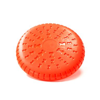 Disco Volador Para Mascota Rojo