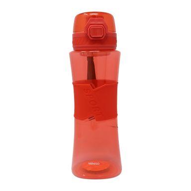 Botella Deportiva Con Asa Tritán Rojo 510 ml