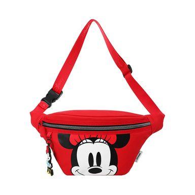 Cangurera Deportiva Disney Minnie Mouse Rojo 24X8X16CM
