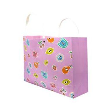 Bolsa De Regalo Fruity Fairy Frutas Rosa 40X18X12CM