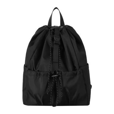 Mochila Escolar Con Doble Bolsillo Negro 46.8X41X5.2CM