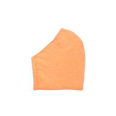 Set De Cubrebocas Reusables Tela Naranja y Rosa  2 Piezas