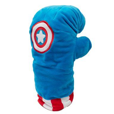 Guante Marvel Capitán América, De Boxeo, De Felpa 32 cm