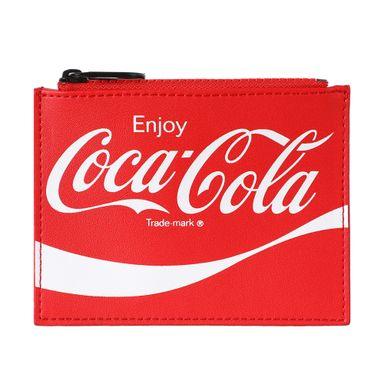Tarjetero Con Cierre Coca Cola Rojo 11X0.5X8.5CM