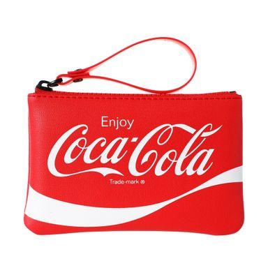 Monedero Con Asa Coca Cola Rojo 13X10X3CM
