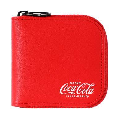 Monedero Cuadrado Coca Cola Rojo 8.5X2X8CM