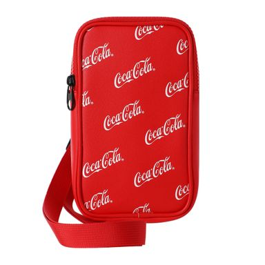Bolsa Crossbody Coca Cola Rojo 11X6X18.5CM