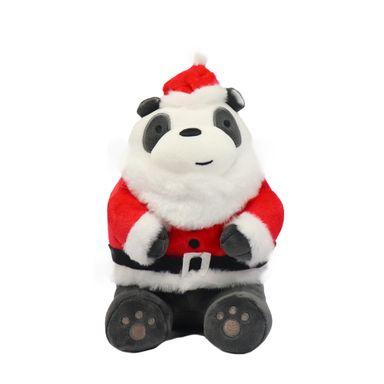 Peluche Edición Especial We Bare Bears Panda Vestido De Santa 27.4X16.5X17.7CM