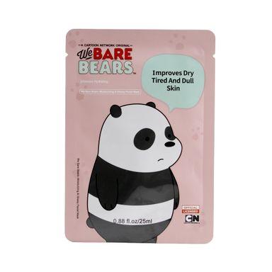 Mascarilla Facial Hidratante Y Brillante We Bare Bears Panda 25 ml