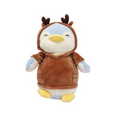 Peluche Pingüino Con Capucha De Alce 29.9X21.8X13.6CM