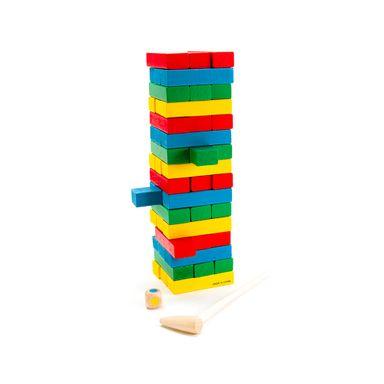 Juego De Mesa Tipo Bloques De Construcción Multicolor