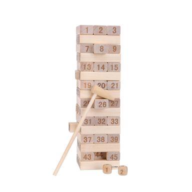 Juego De Mesa Torre De Equilibrio Madera