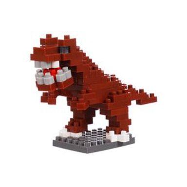 Bloques De Construcción Miniatura Tiranosaurio Rojo