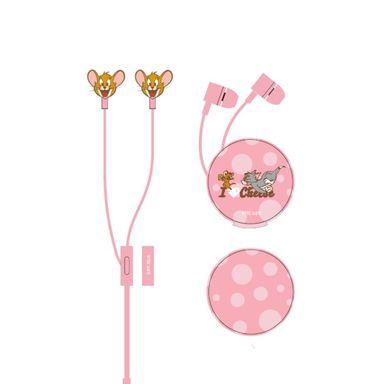Audífonos De Cabe Mod F056 Tom & Jerry Rosa