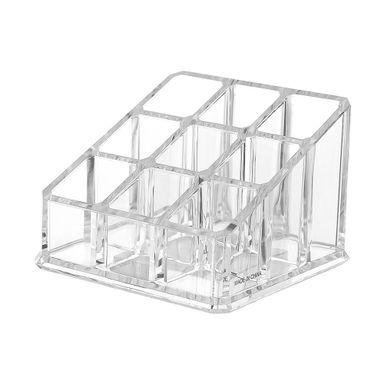 Organizador Para Cosméticos Multifuncional Transparente 7.366x10.16x9.652cm