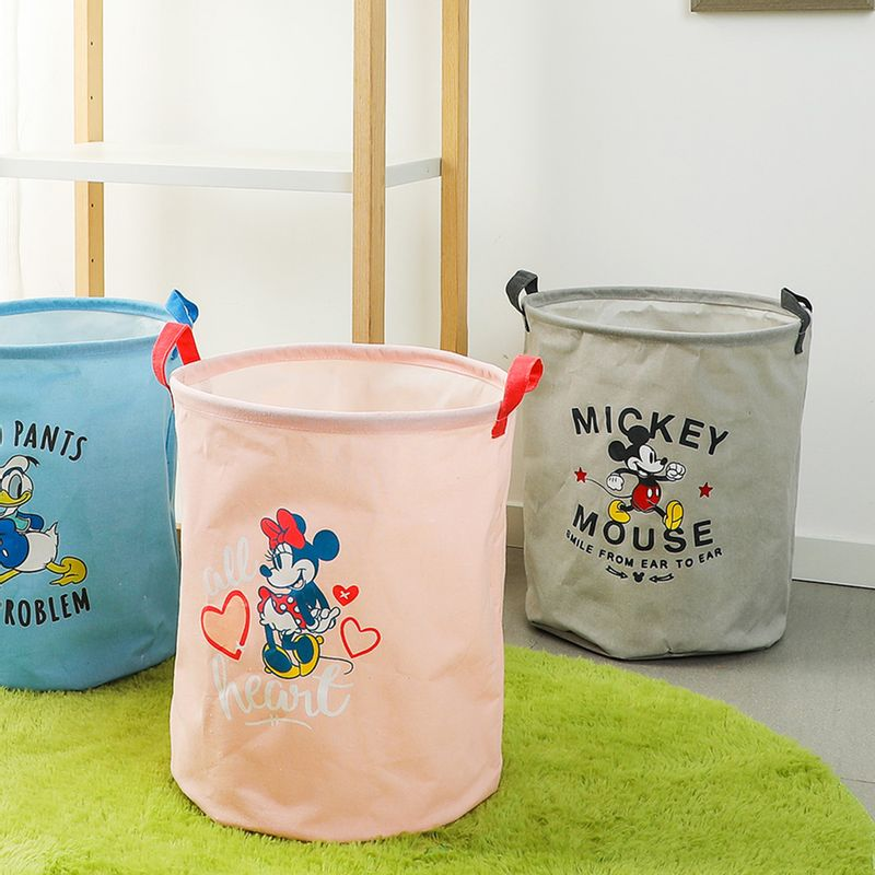 Organizador-Disney-Minnie-Mouse-Cil-ndrico-Tela-Rosa-33X40X1cm-4-6249
