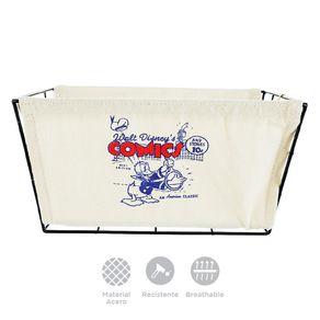Organizador-Disney-Pato-Donald-Tipo-Cesta-Acero-Blanco-20X15X30cm-3-6288