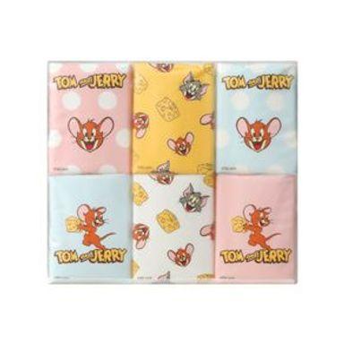Paquete De Pañuelos Desechables Tom Y Jerry Tom & Jerry 18 Paquetes