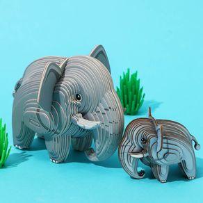 Rompecabezas-3D-Mini-Elefante-Cartulina-Gris-4-5X5-1X6-3cm-2-8077