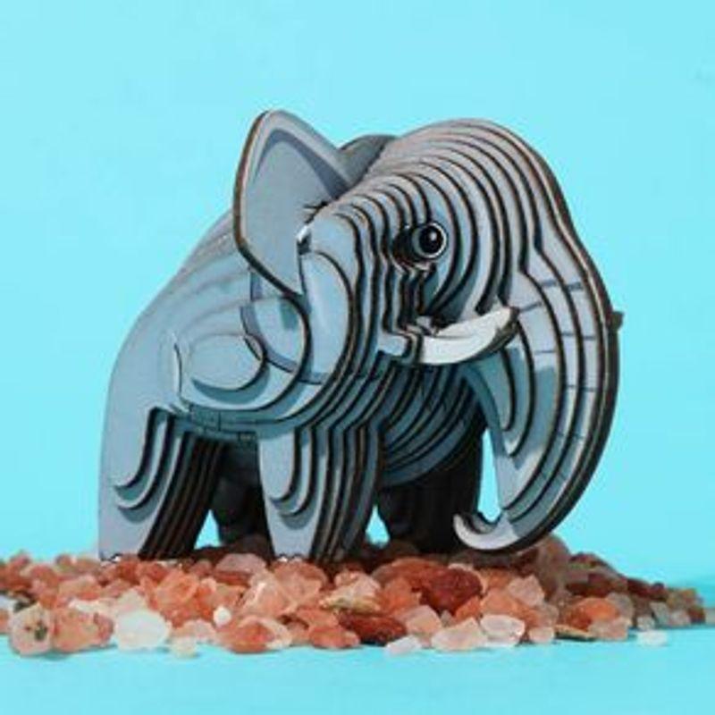 Rompecabezas-3D-Mini-Elefante-Cartulina-Gris-4-5X5-1X6-3cm-3-8077