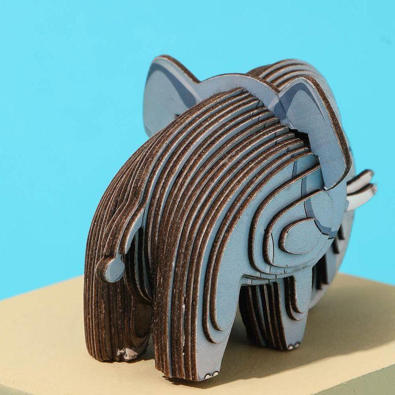 Rompecabezas-3D-Mini-Elefante-Cartulina-Gris-4-5X5-1X6-3cm-4-8077