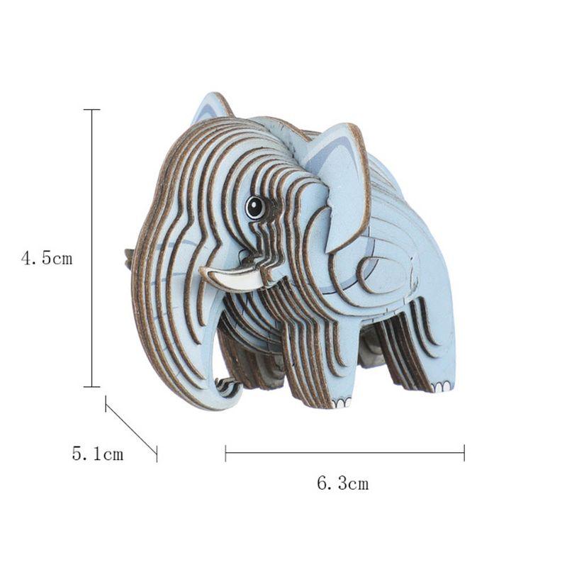 Rompecabezas-3D-Mini-Elefante-Cartulina-Gris-4-5X5-1X6-3cm-8-8077