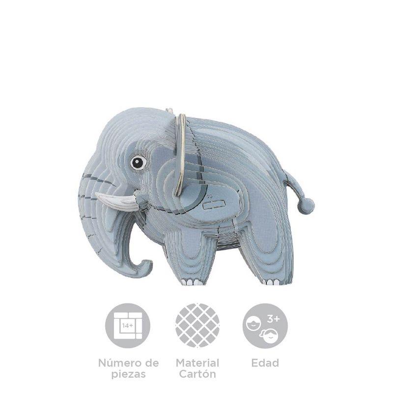 Rompecabezas-3D-Mini-Elefante-Cartulina-Gris-4-5X5-1X6-3cm-9-8077