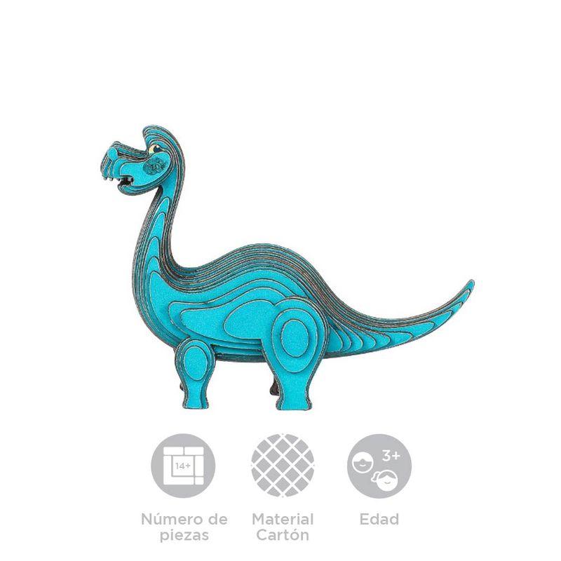 Rompecabezas-3D-Mini-Tanystropheus-Cartulina-Azul-8-6X6-4X3-3cm-8-8079