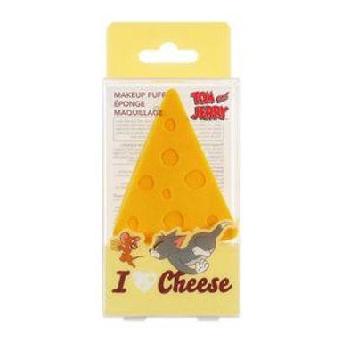 Esponja Para Maquillaje Triangular Tom & Jerry Queso Amarillo