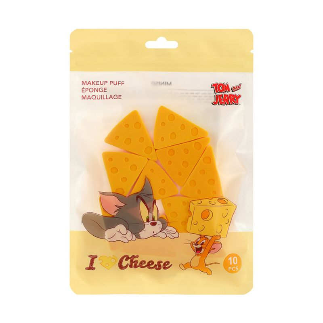 Paquete-De-Esponjas-Triangular-Tom-Jerry-Amarillo-10-Piezas-1-8029