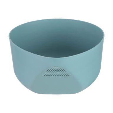 Colador Sencillo Plástico Verde 22.3X19.7X10.1cm