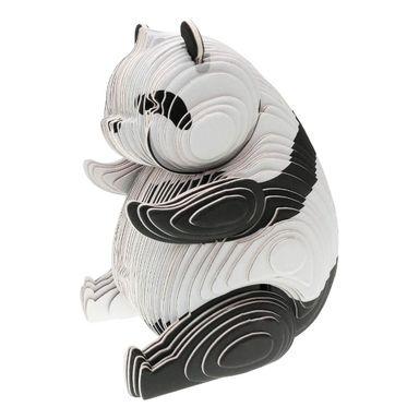 Rompecabezas 3D Mini Panda Cartulina Blanco 5.8X3.3X4.2cm