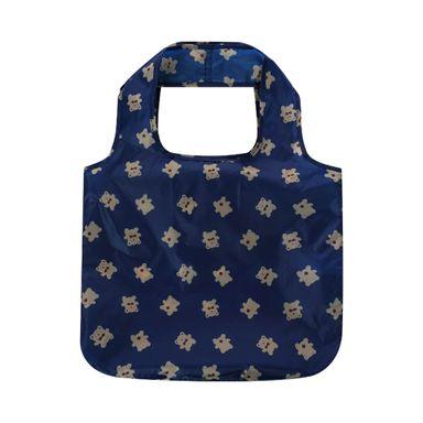 Bolsa Para Compras Plegable Oso Azul 38X55X5.5cm
