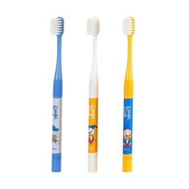 Set De Cepillo Dental Con Cerdas Suaves Disney Pato Donald 3 Piezas