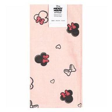 Toalla Facial Disney Minnie Mouse Algodón Rosa 34X35CM