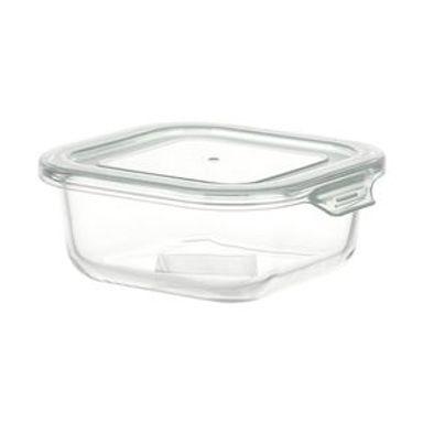 Contenedor De Alimentos Con Tapa Vidrio borosilicatado Verde 800 ml