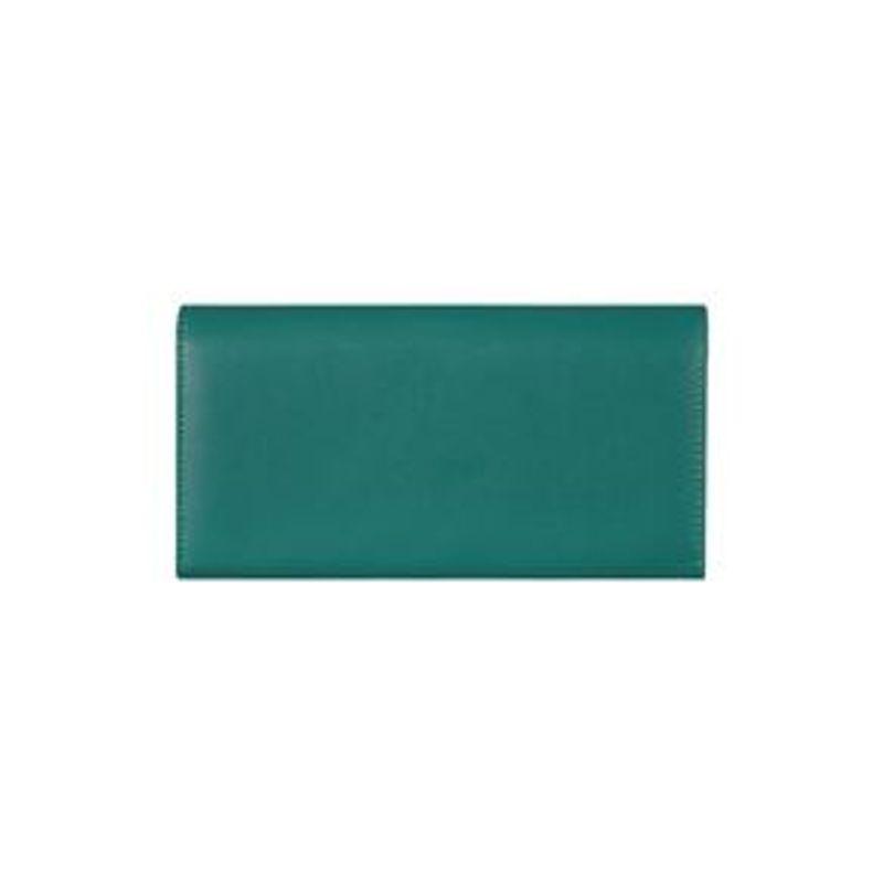 Cartera-Larga-Para-Mujer-Con-Hebilla-Verde-19X10CM-3-8324