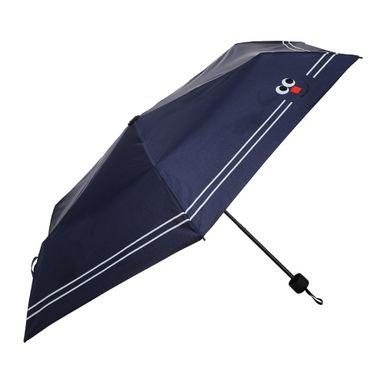 Paraguas Plegable Cara Sonriente Azul 24 CM