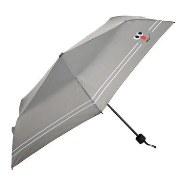 Paraguas Plegable Cara Sonriente Gris 24 CM