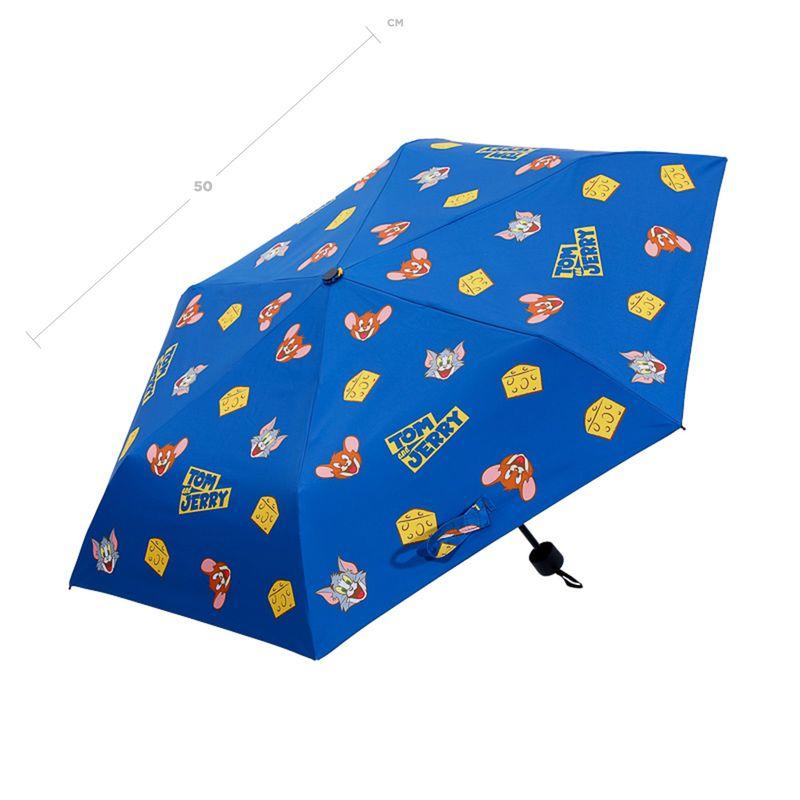 Paraguas-Plegable-UV-Tom-Jerry-Tom-Jerry-Azul-24CM-4-8357
