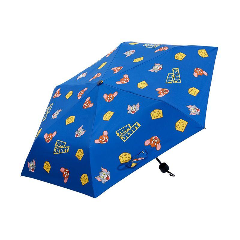 Paraguas-Plegable-UV-Tom-Jerry-Tom-Jerry-Azul-24CM-1-8357