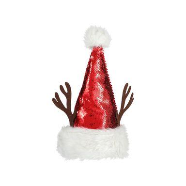 Sombrero De Navidad Venado Rojo