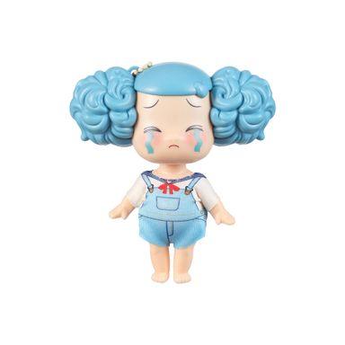 Muñeca De Ornamento Azul 9CM