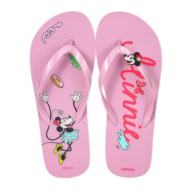 Sandalias Para Mujer Disney Minnie Mouse Rosa 39-40 CM