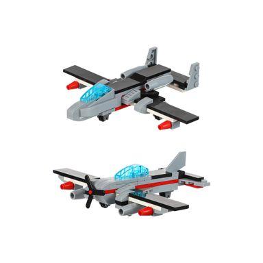 Bloques De Construcción Avión De Guerra De Onda De Sonido 78 Piezas